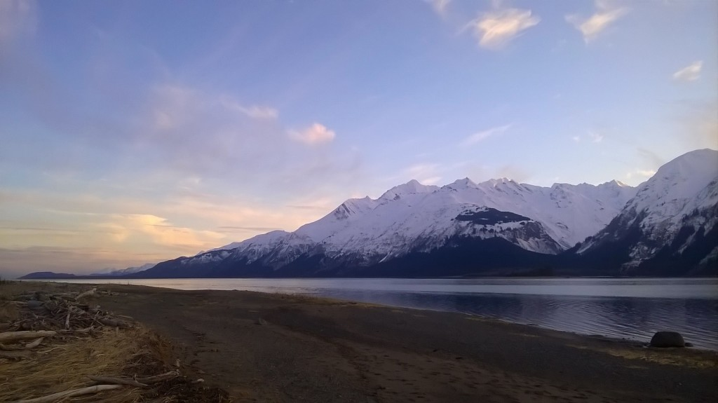 A clear day in Haines March 14. (Emily Files)