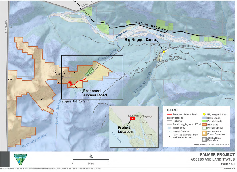 Palmer Project site. (BLM)