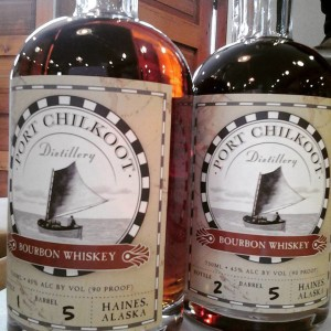 Port Chilkoot Bourbon. (Port Chilkoot Distillery)