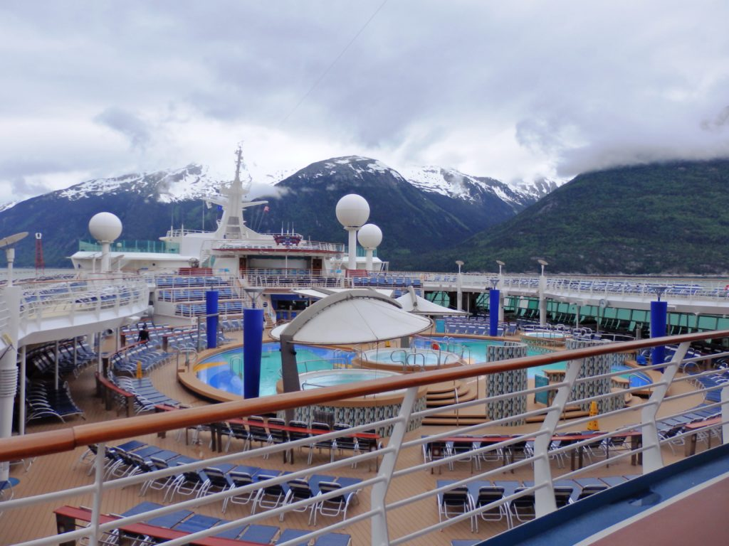 Inside the largest cruise ship to sail Alaska waters