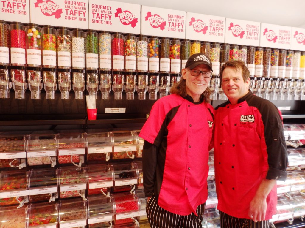 Skipper Stovall and Nils Davis own Bites on Broadway and now, Sweet Treats. (Emily Files)