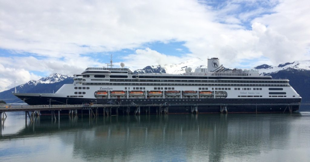 The MS Zaandam in Haines. (Jillian Rogers)