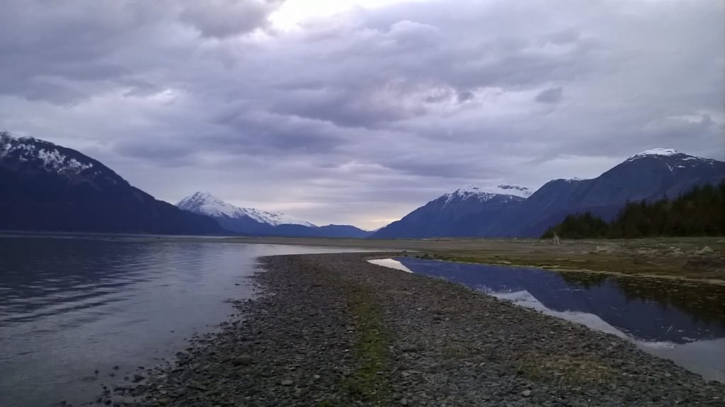 Mud Bay Beach in Haines. (Emily Files)