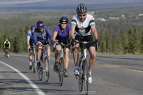 Cyclists gear up for Kluane Chilkat International Bike Relay