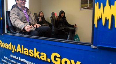 The Alaska Earthquake Simulator in October 2015. (Photo by Sgt. Marisa Lindsay/ADHS Facebook)