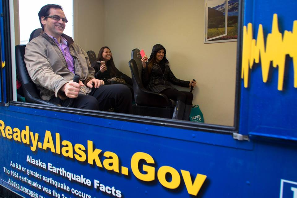 The Alaska Earthquake Simulator in October 2015. (Photo by Sgt. Marisa Lindsay/ADHS Facebook)