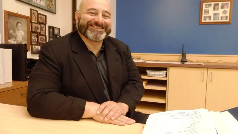 Haines Superintendent Tony Habra. (Emily Files)
