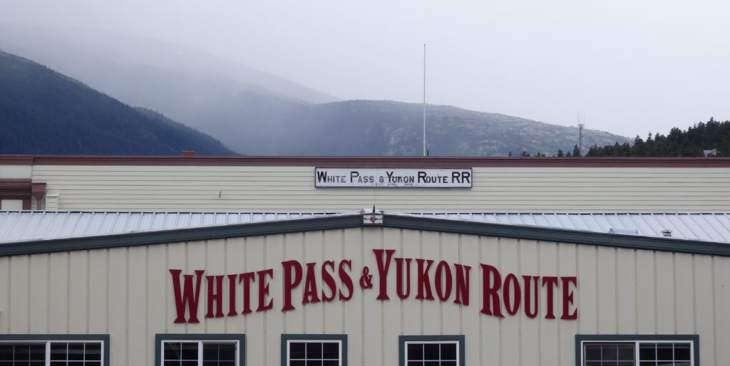 White Pass and Yukon Route Railroad controls much of the tidelands the municipality needs access to for port improvements. (Greta Mart)