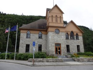 Skagway City Hall and Museum. (Greta Mart)