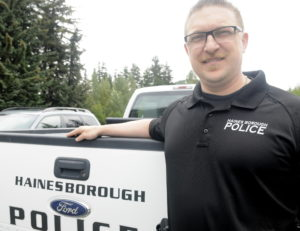 Heath Scott started last week as the Haines Borough Chief of Police.