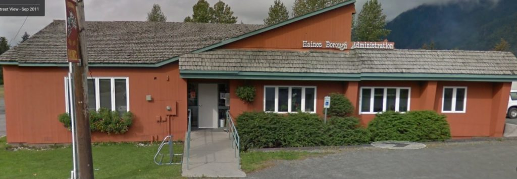 The Haines Borough Administration Building. (Google Maps)
