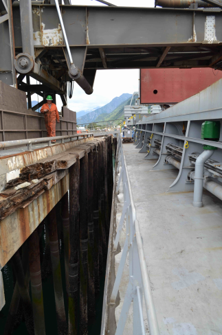 Skagway officials question investigation into possible ore spill