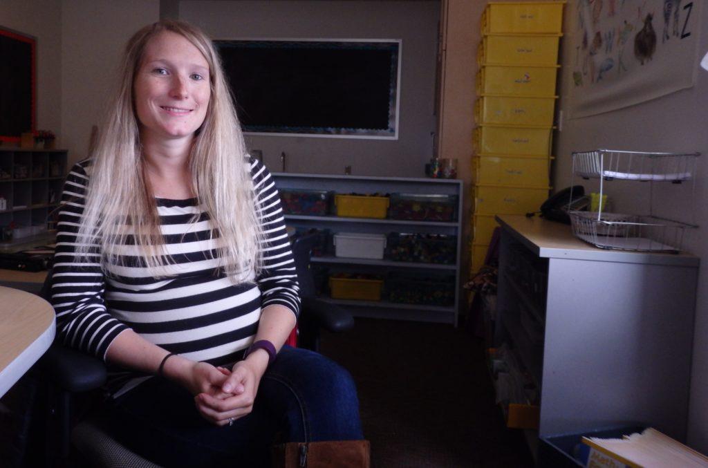 Sarah Vosz is Haines' new Kindergarten teacher. (Emily Files)