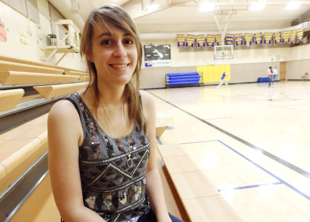 Rebecca Sullivan is the new high school social studies, P.E., and vocational education teachers. (Emily Files)