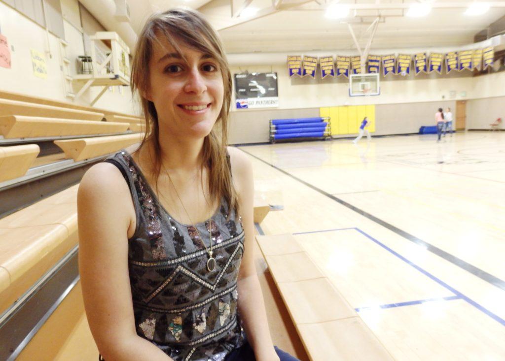 Rebecca Sullivan is the new high school social studies, P.E., and vocational education teachers. (Emily Files)