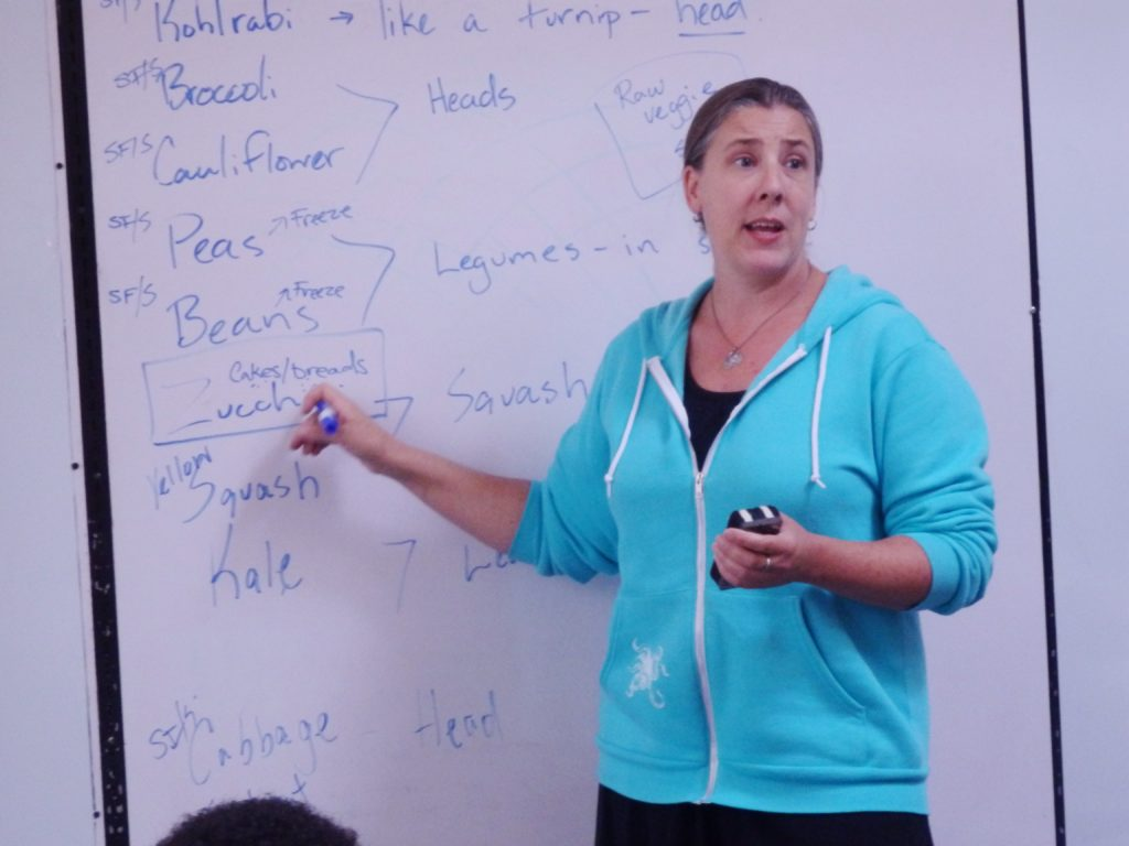 Jessica Tipkemper is the new grades 7-12 teacher. (Emily Files)