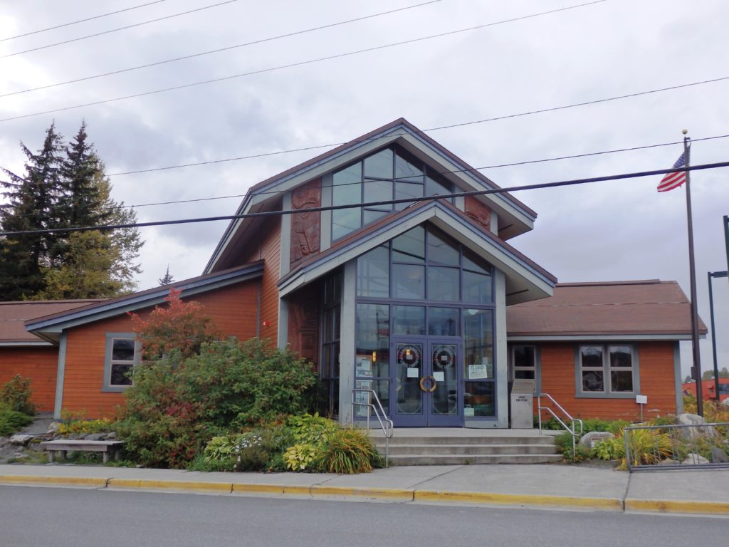 The Haines Borough Public Library. (Emily Files)