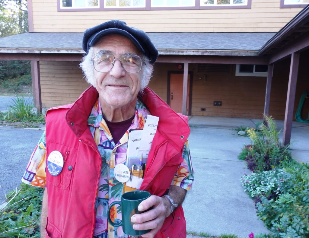 Haines Libertarian continues write-in campaign despite disqualification by Division of Elections