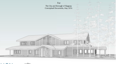 A conceptual design of the proposed Skagway senior center and apartments. (MRV Architects)