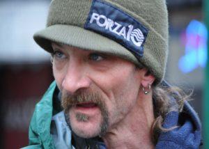 Lance Mackey ahead of the 2015 Iditarod. (Photo By Patrick Yack – Alaska Public Media)