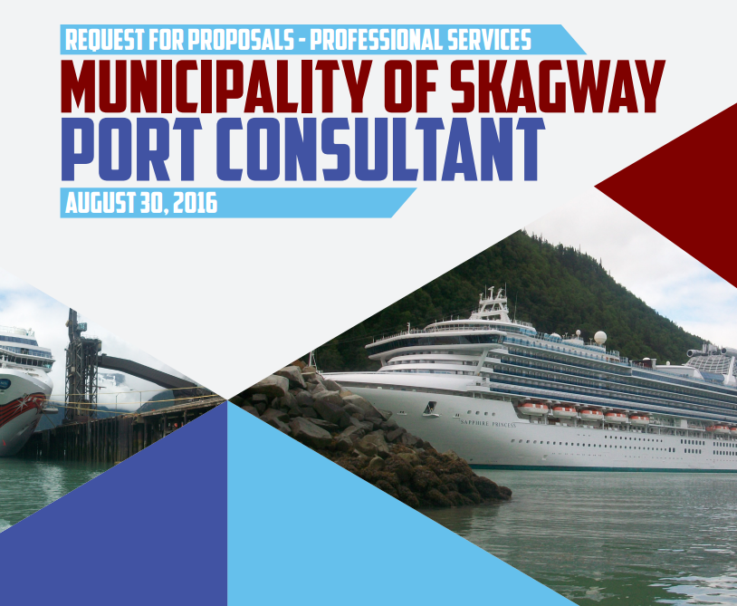 The cover page of the winning port consultant proposal, from Moffat and Nichol.