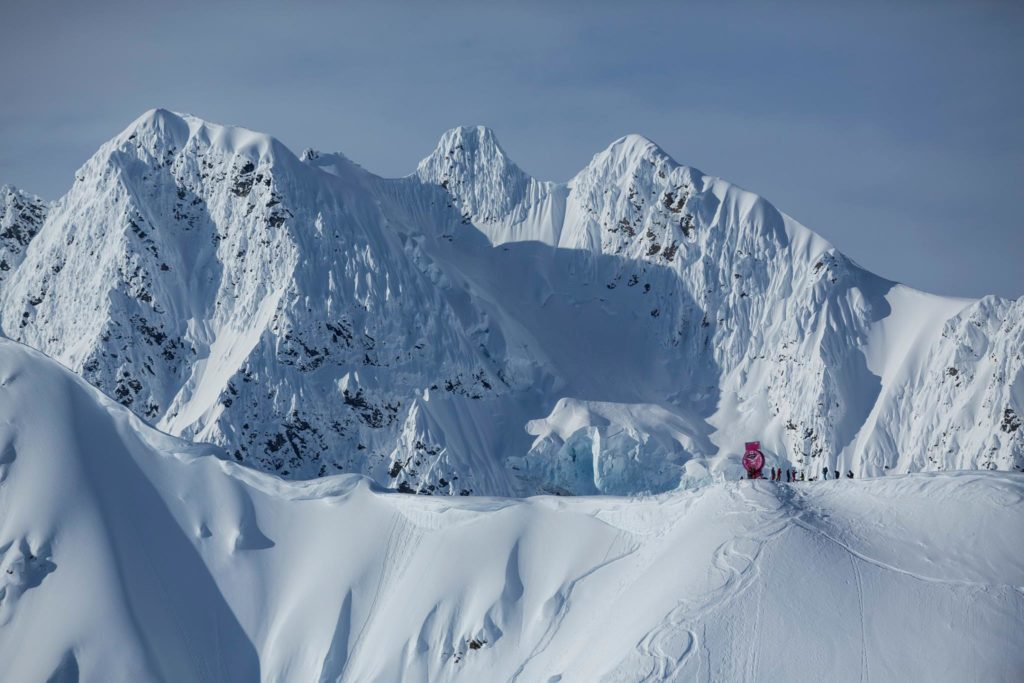 The Freeride World Tour competition venue in Haines. (Photo: © Jeremy Bernard Photography)