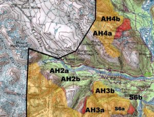 Alaska Heliskiing map amendment proposals AH2-AH4 (Haines Borough Map)
