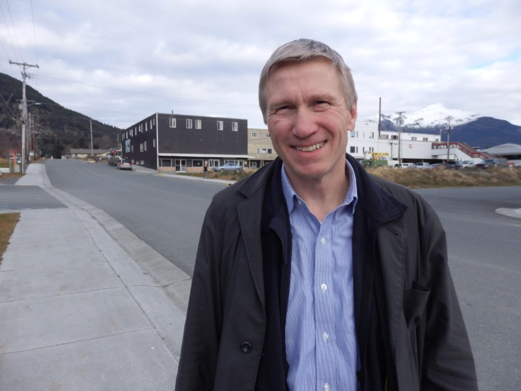 Dean Williams is the Alaska Department of Corrections Commissioner. (Emily Files)