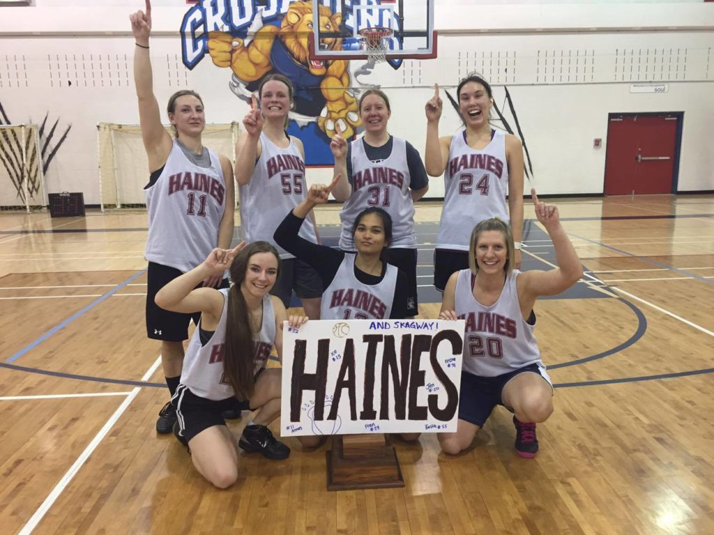 The Haines Women took first place in a Whitehorse tournament recently. (Krista Kielsmeier)