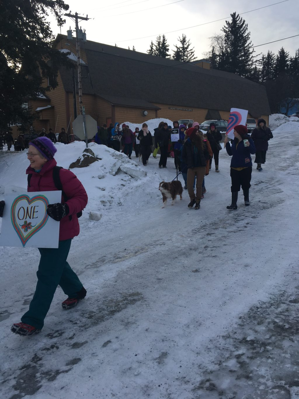 In Skagway and Haines, groups harness the momentum of the Women's March