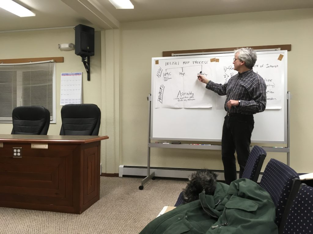 Haines commerce committee considers fate of heliski map committee