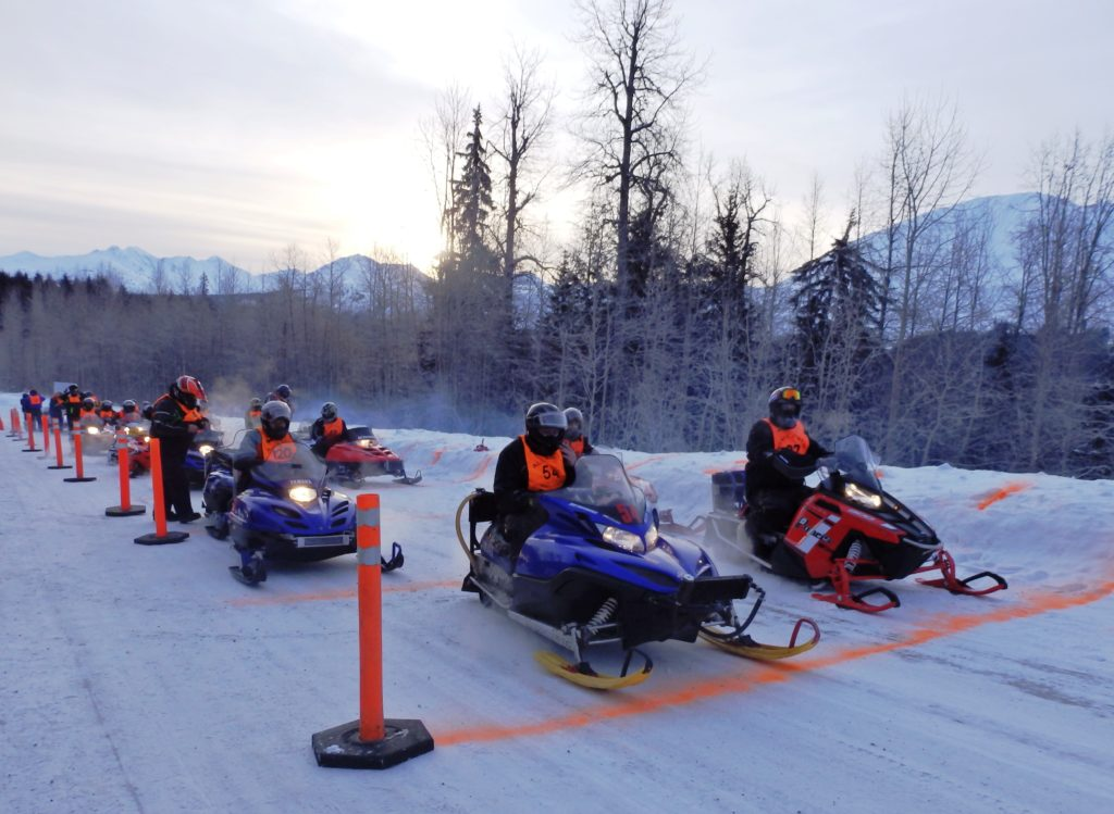 Riders battle challenging conditions in Alcan 200 snowmachine race