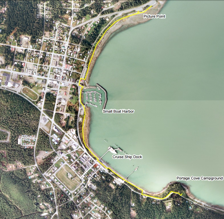 New York design firm visits Haines to consider Portage Cove plans