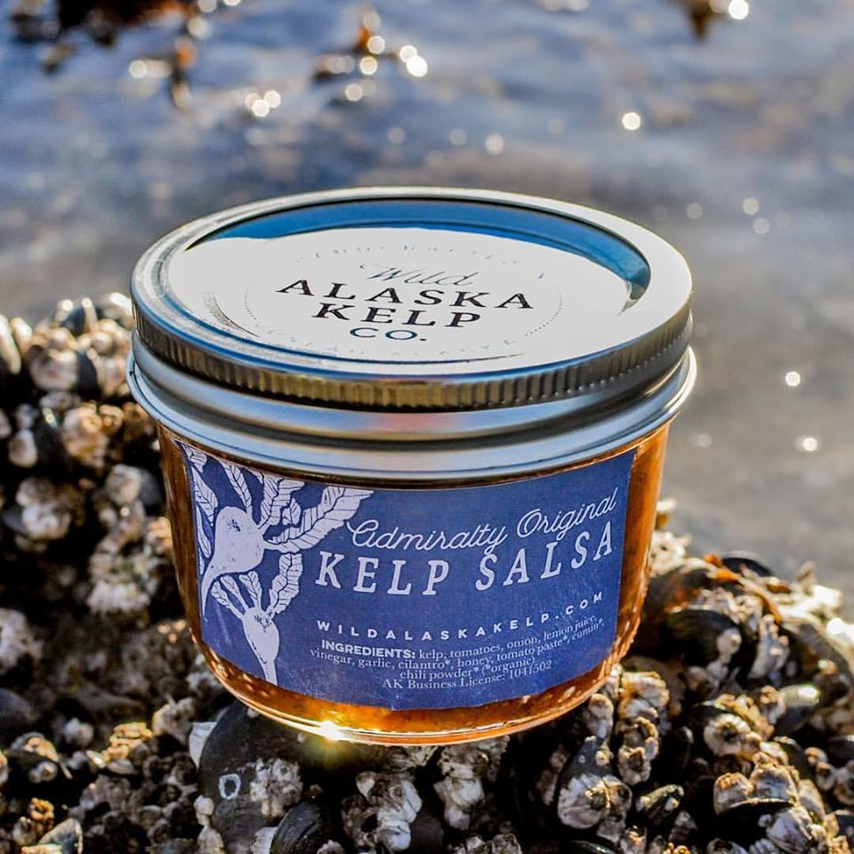 Salsa from the Wild Alaska Kelp Co. based in Juneau. (Wild Alaska Kelp Co.)