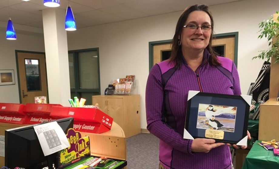 Haines School librarian wins statewide award