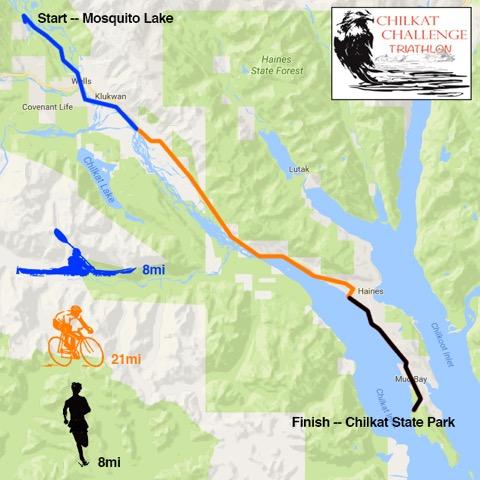 Chilkat Challenge Triathlon set for July in Haines