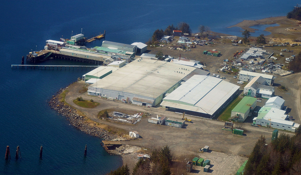 The Ocean Beauty Excursion Inlet fish processing plant. (Ocean Beauty)