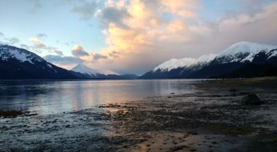 The Chilkat River beach is one area Richardson proposes to include in his shuttle route. (Emily Files)