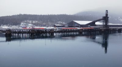 The Skagway ore dock. (Emily Files)