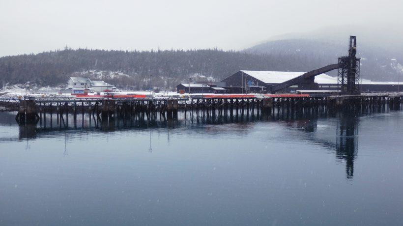 The Skagway ore dock. (Emily Files)