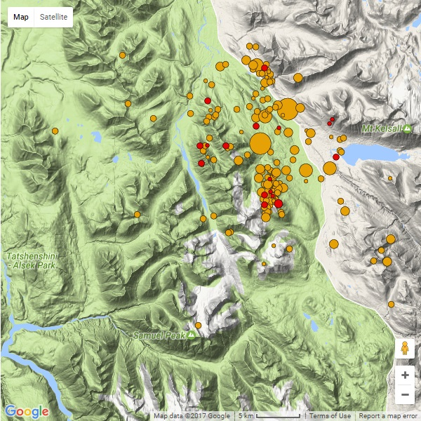 Earthquakes shake Southeast Alaska, Yukon communities