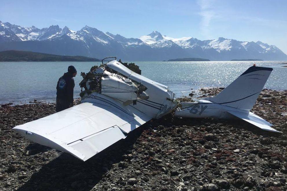 NTSB: Pilot shut off one engine before fatal plane crash near Haines