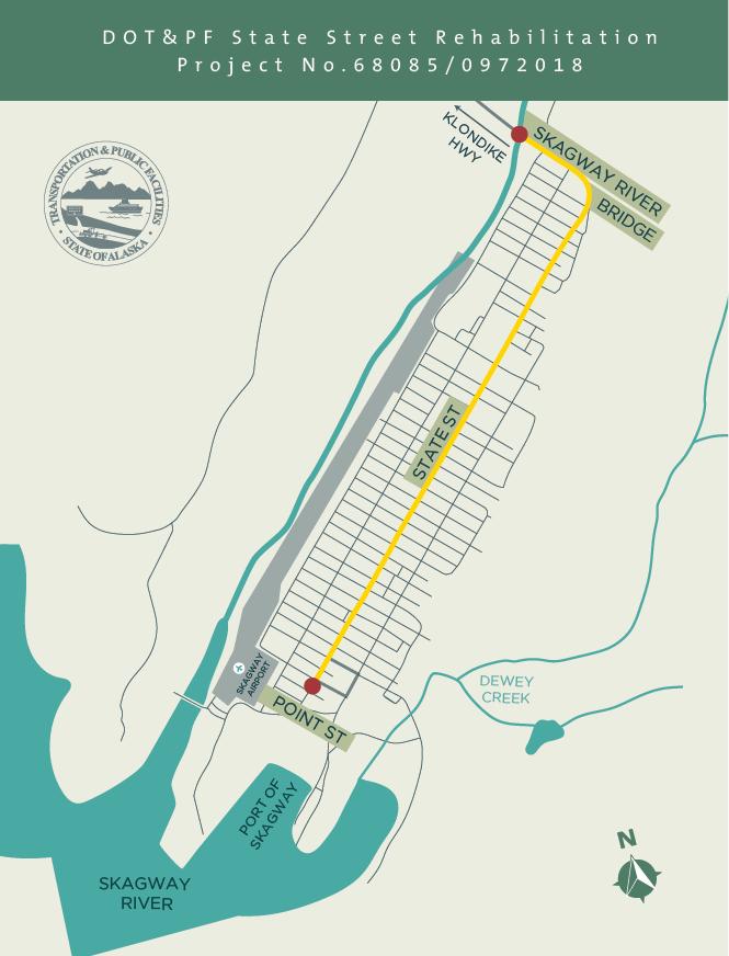 Rehabilitation of Skagway's State Street to begin next summer