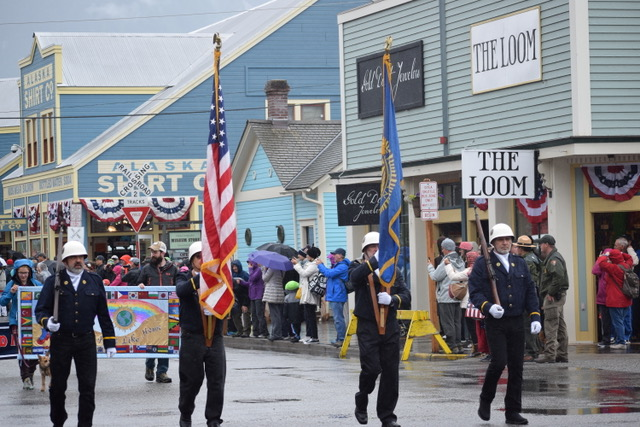 Scenes from the Skagway parade.