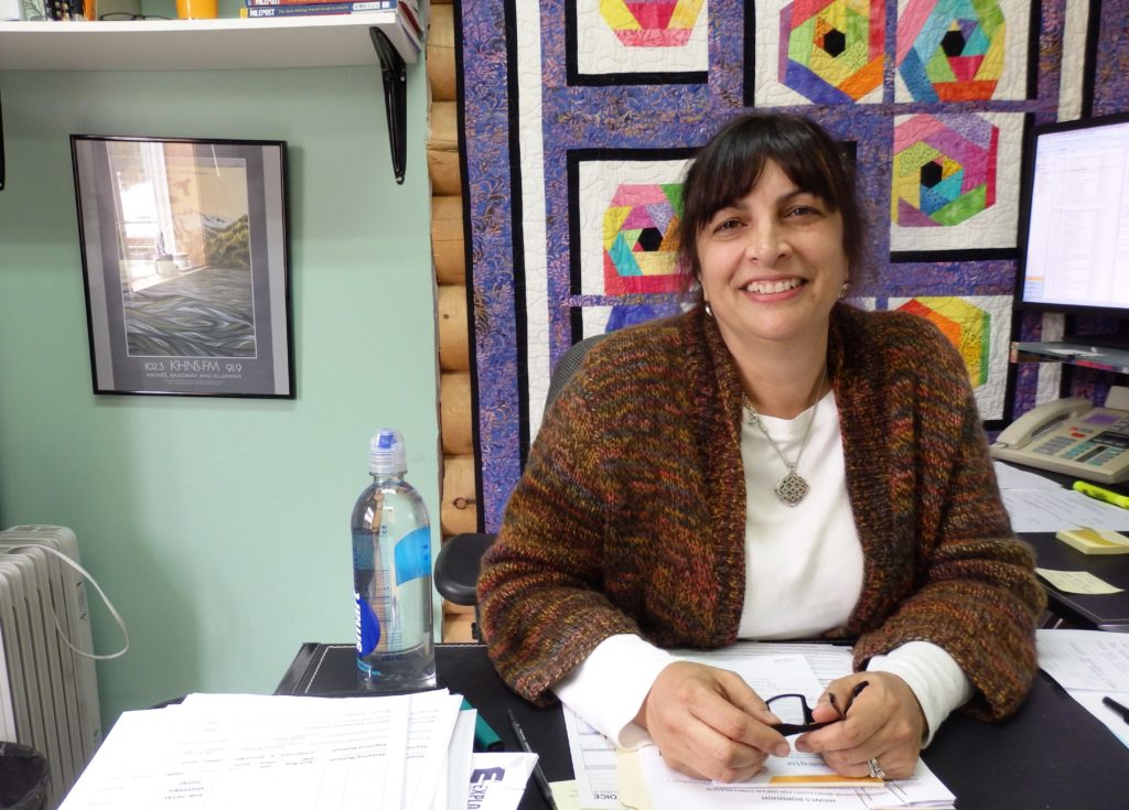Carolann Wooten is the new Haines tourism director. (Emily Files)