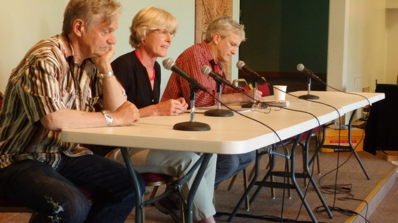 Tresham Gregg, Heather Lende and Tom Morphet are targeted in a special recall election Aug. 15.