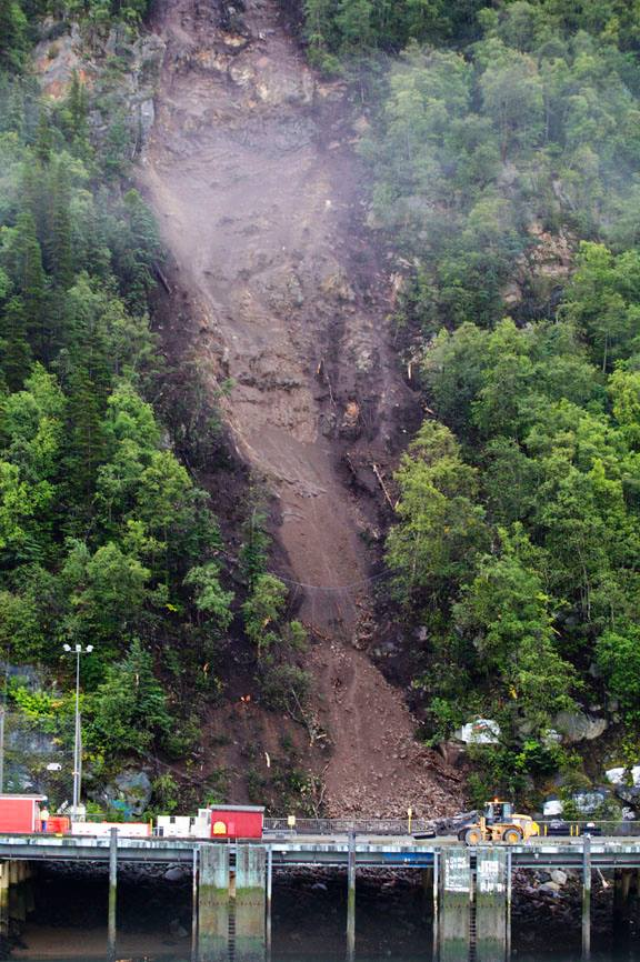 Skagway Rocked By Second Landslide In Under 2 Weeks