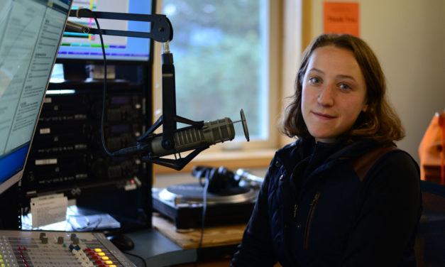 KHNS welcomes reporter Berett Wilber