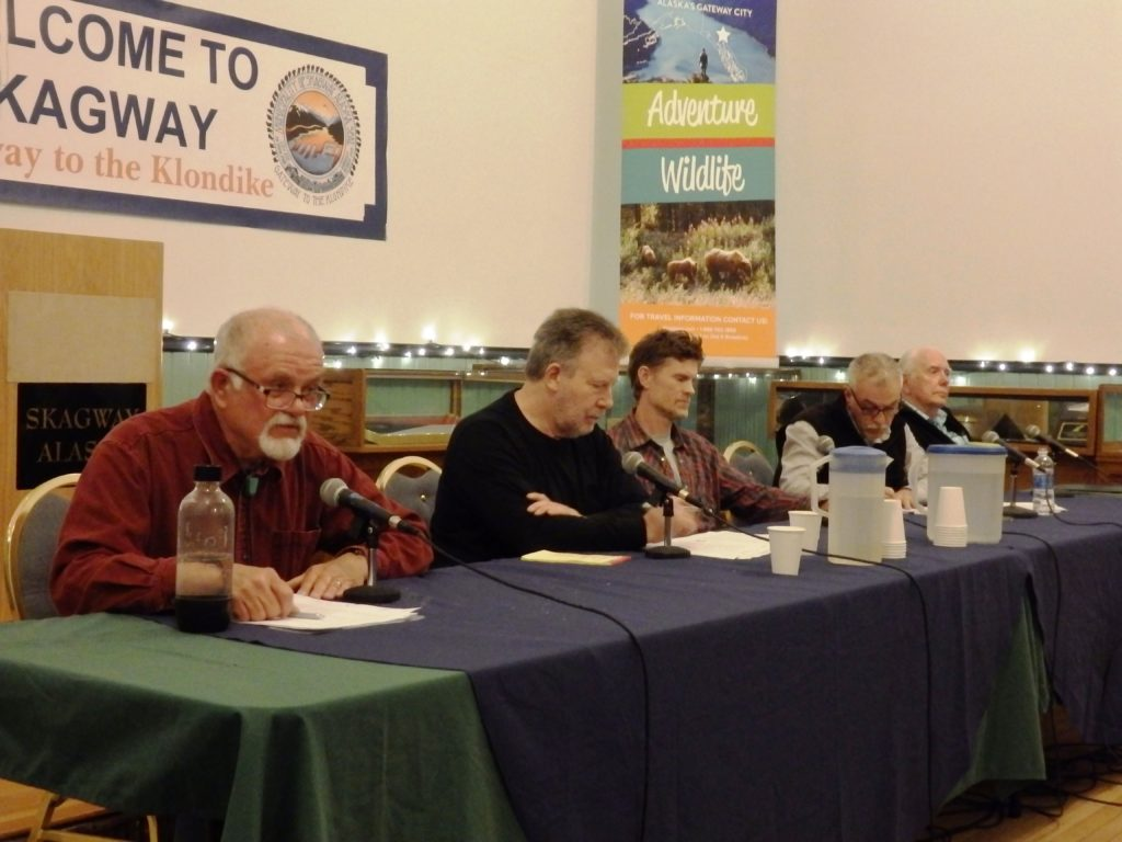 Write-in heavy Skagway Assembly race could influence future direction of waterfront