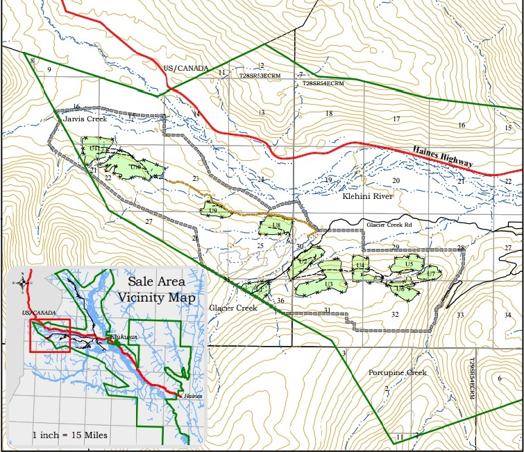 State publishes new land use plan for proposed 855-acre timber sale near Haines